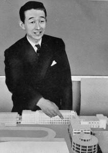 【円形校舎物語7】 円形にこだわった建築家 坂本鹿名夫